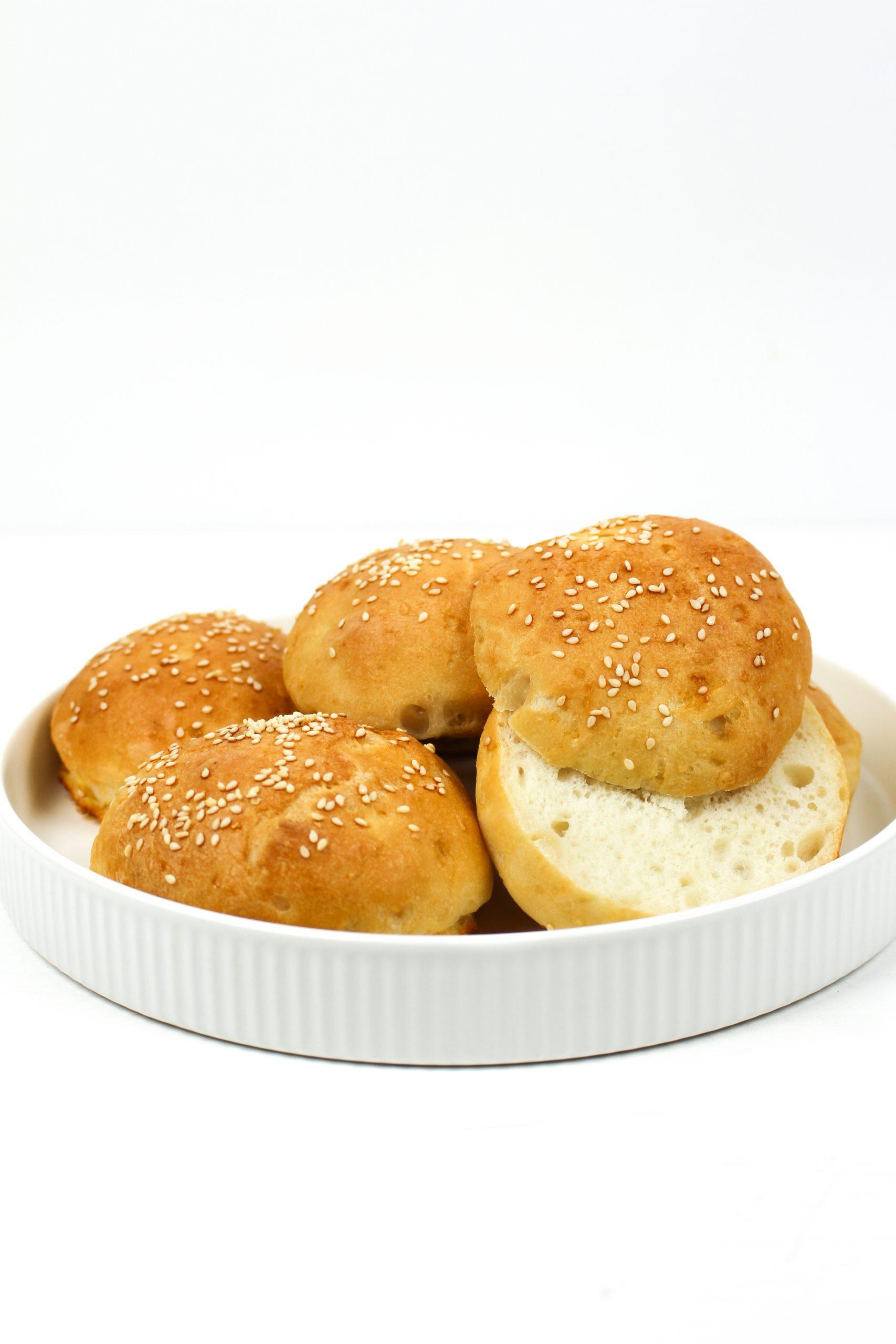 Das perfekte glutenfreie Burger-Brötchen